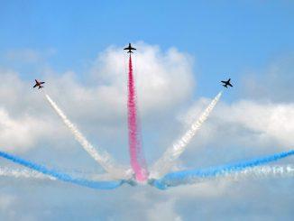 разнонаправленное действие на примере самолетов