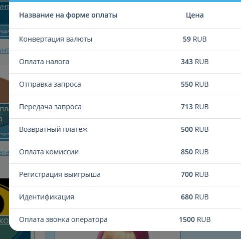 HappyMoment дополнительные платежи
