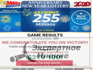 Mega Millions Scam Беспроигрышная лотерея