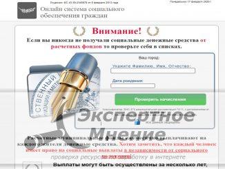 Онлайн система социального обеспечения граждан отзывы